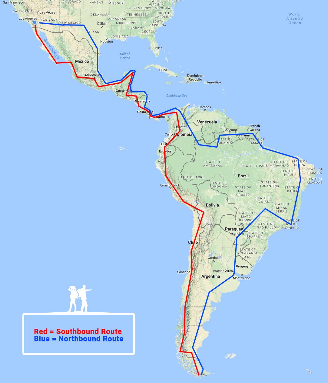 overlanding pan-american highway